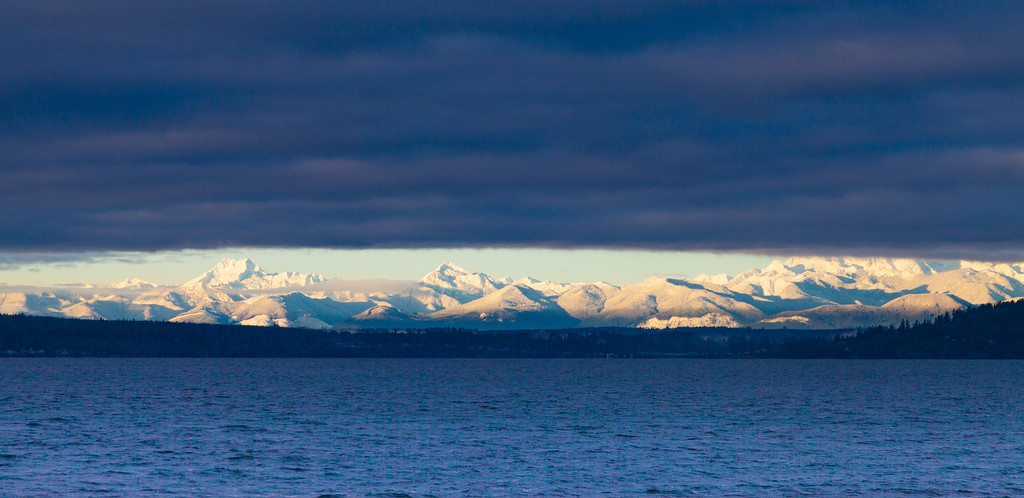 The Olympic Range - Emerging after the Storm