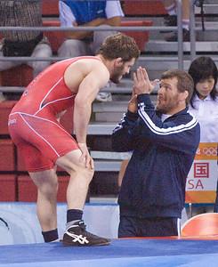 Doug Schwab (USA) 66kg and Ben Askren (USA) 74 kg