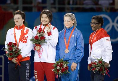 Randi Miller, 64 kg (USA) Bronze Medal