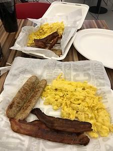 Breakfast at Rock & Brews.