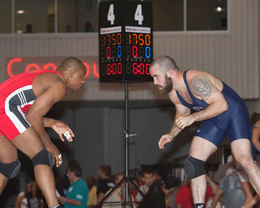 Men's Freestyle Championships 84 Kg, Joe Williams (Sunkist Kids) def. Andy Hrovat (NYAC)