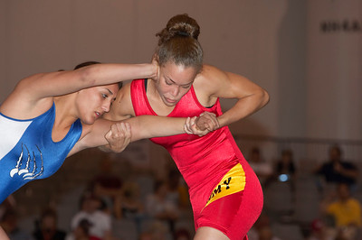 Women's Freestyle Championships 59 Kg, Leigh Jaynes (U.S. Army) def. Tatiana Padilla (Calif. Grapplers)