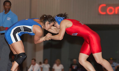 Women's Freestyle Preliminaries, Quarterfinals and Semifinals,48, 55, 63 kg.