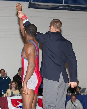 74 kg Greco Champion T. C. Dantzler (USA) def. Harry Lester (USA) by default