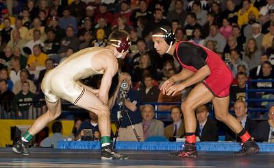 NCAA Champion 125 pounds, Angel Escobedo (Indiana) def. Jayson Ness (Minnesota)