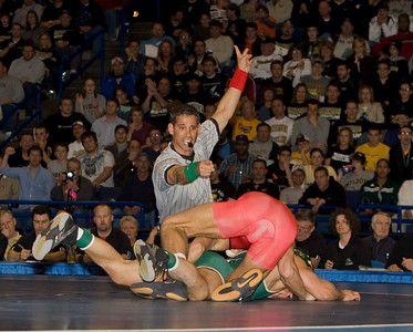 NCAA Champion, 141 pounds, J. Jaggers (Ohio State) def. Chad Mendes (Cal Poly)