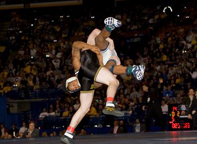 NCAA Champion 149 pounds, Brent Metcalf (Iowa) def. Bubba Jenkins (Penn State)