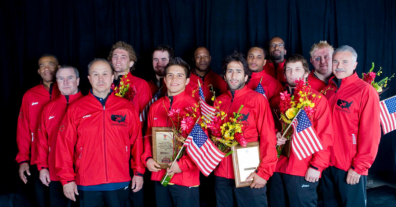 2008 USA Olympic Mens Freestyle Wrestling Teams 8Y2T2655