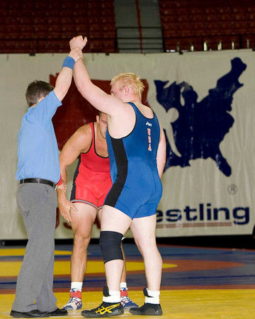Mens Freestyle 120 Kg Olympic Representative Champion - Steve Mocco (New York AC) def. Tommy Rowlands (Sunkist Kids)