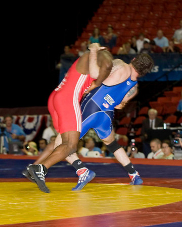 Mens Freestyle 84 Kg Olympic Representative Champion - Andy Hrovat (New York AC) def. Mo Lawal (Sunkist Kids)