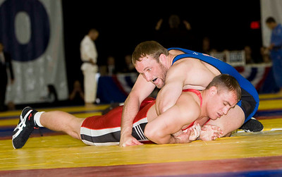 Mens Greco - Roman 84 Kg Olympic Representative Champion - Brad Vering (New York AC) def. Aaron Sieracki (US Army)