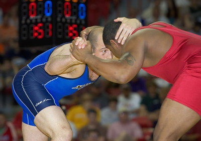 Men's Freestyle Championships, 96kg: Daniel Cormier (Gator WC) def. Damion Hahn (NYAC)