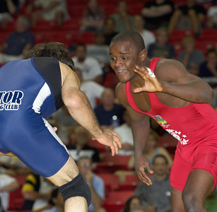 Men's Freestyle Championships, 60kg: Mike Zadick (Gator WC) def. Shawn Bunch (Gator WC)