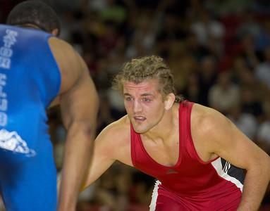 Men's Freestyle Championships, 74kg: Ben Askren (Sunkist Kids) def. Tyrone Lewis (Gator WC)