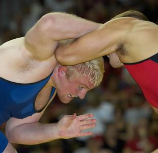 Men's Freestyle Championships 120kg: Steve Mocco (NYAC) def. Tommy Rowlands (Sunkist Kids)