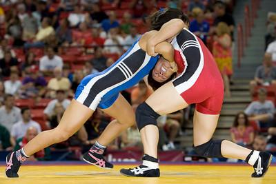 Women's Freestyle Championships, 48kg: Clarissa Chun (Sunkist Kids) def. Patricia Miranda (Sunkist Kids)