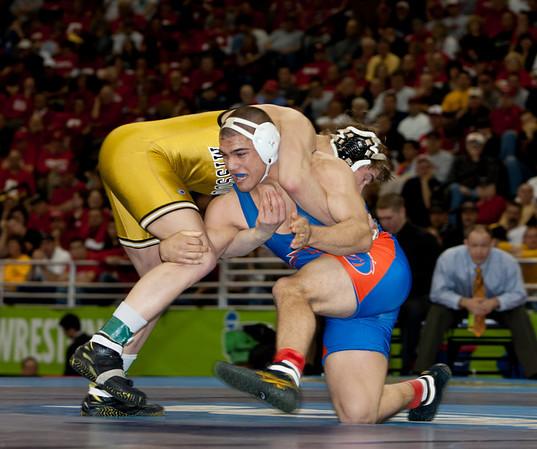 2010 NCAA 184 Champion, Max Askren (Missouri) def. Kirk Smith (Boise State)