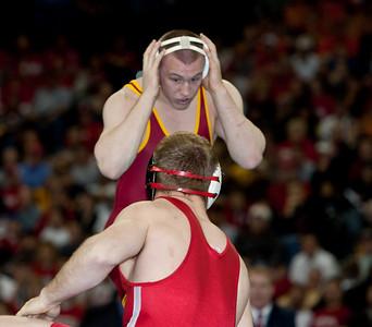 2010 NCAA 197 Champion, Jake Varner (Iowa State) def. Craig Brester (Nebraska)
