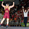 2010 NCAA Hwt Champion, David Zabriskie (Iowa State) def. Jared Rosholt (Okla State) :