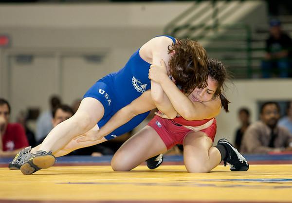 2010 US Open Wresling Championships Women finals