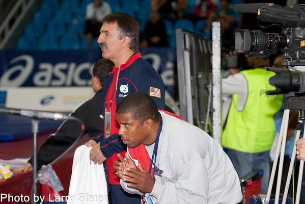 1 Coaches at World Wrestling Championships