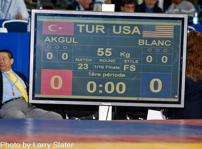 Obe Blanc, 55kg Freestyle