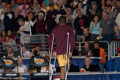 2011 NCAA 125 Champion, Anthony Robles