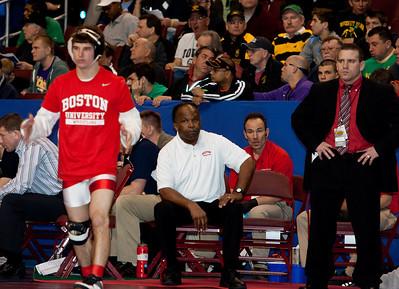 Boston University at 2011 NCAA Wrestling Championships