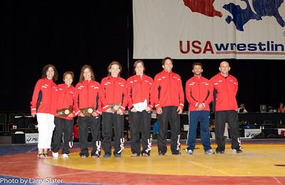 2011 World Wrestling Team Photos