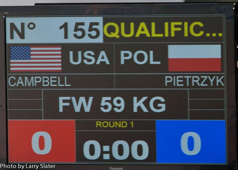 59kg Kelsey Campbell v  Poland_R3P3351