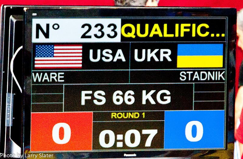 66kg Teyon Ware v  Ukraine_R3P4903