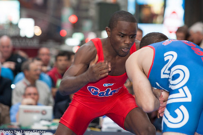 Olympic Team wrestle off: Coleman Scott def. Shawn Bunch.