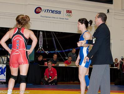 55kg Tonya Verbeek def  Helen Maroulis_R3P4185