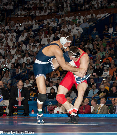 184 Champion Steve Bosak (Cornell) 2012 NCAA Wrestling Championships