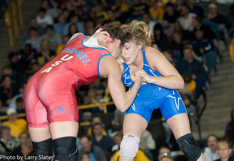 55kg Kelsey Campbell def  Helen Maroulis_R3P2903