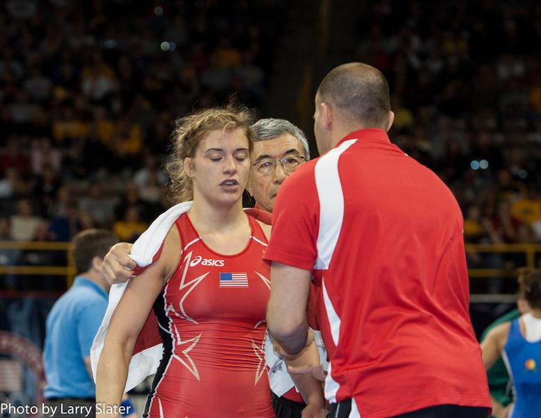 55kg Kelsey Campbell def  Helen Maroulis_R3P2757