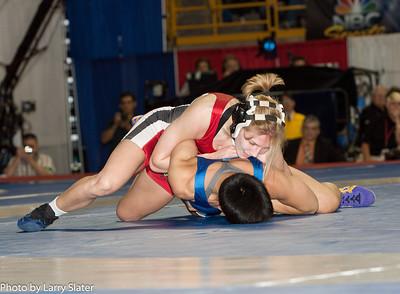 48kg Clarissa Chun def  Alyssa Lampe_R3P3625