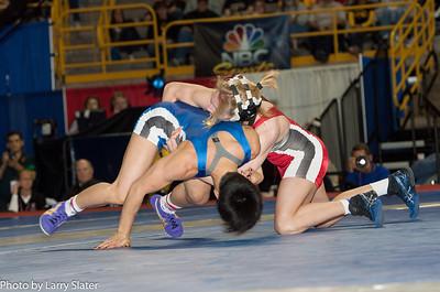 48kg Clarissa Chun def  Alyssa Lampe_R3P3623