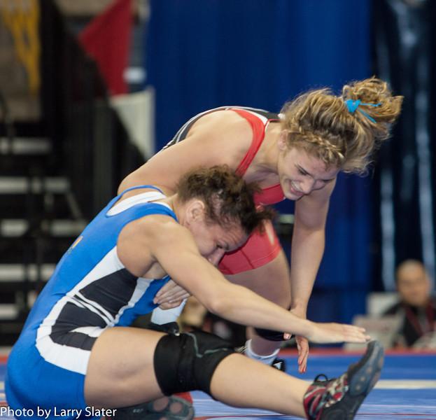 55kg Kelsey Campbell def  Helen Maroulis_R3P2737