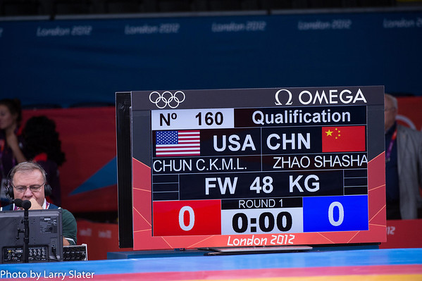 48kg Women's Freestyle Clarissa Chun
