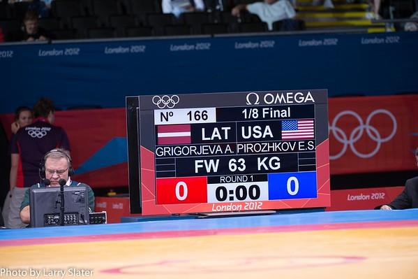 63kg Women's Freestyle Elena Pirozhkova