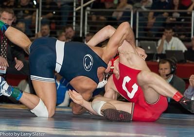 165 Kyle Dake (Cornell) def  David Taylor (Penn State) _R3P2854