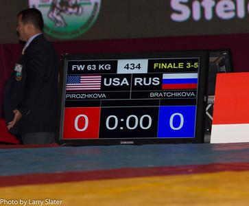Elena Pirozhkova, 63kg Women's Freestyle