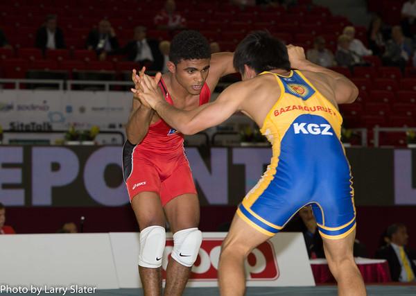 Franklin Gomez and Jaime Espinal at World Championships