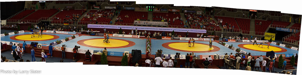 Panorama with Referees