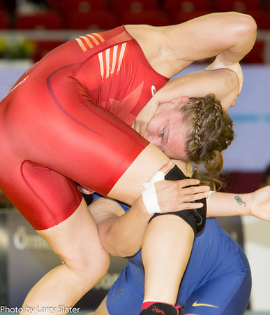 Veronica Carlson, 67kg Women's Freestyle