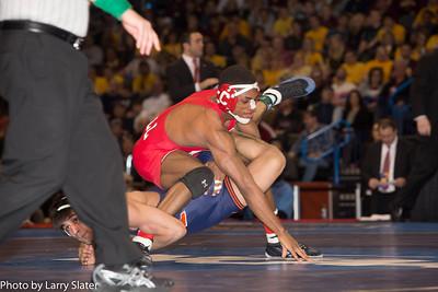 125 NCAA Champion, Jesse Delgado (Ill.) def. Nahshon Garrett (Corn.)
