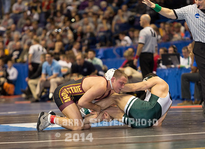 2015 NCAA Wrestling Championships, St. Louis, MO, March 2015
