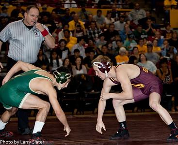 ASU Wrestling v. Cal Poly, January 30, 2011