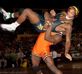 149 lbs Jamal Parks, Oklahoma State vs  Joel Smith, ASU